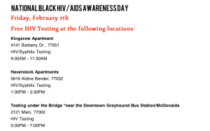 national black testing day
