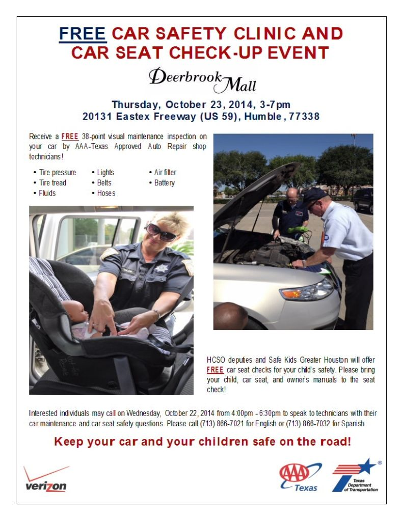 Free Car Safety Clinic