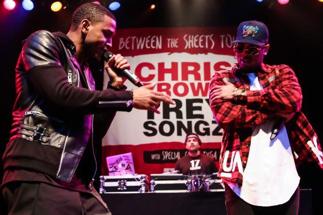 Chris Brown, Trey Songz And Tyga Press Conference