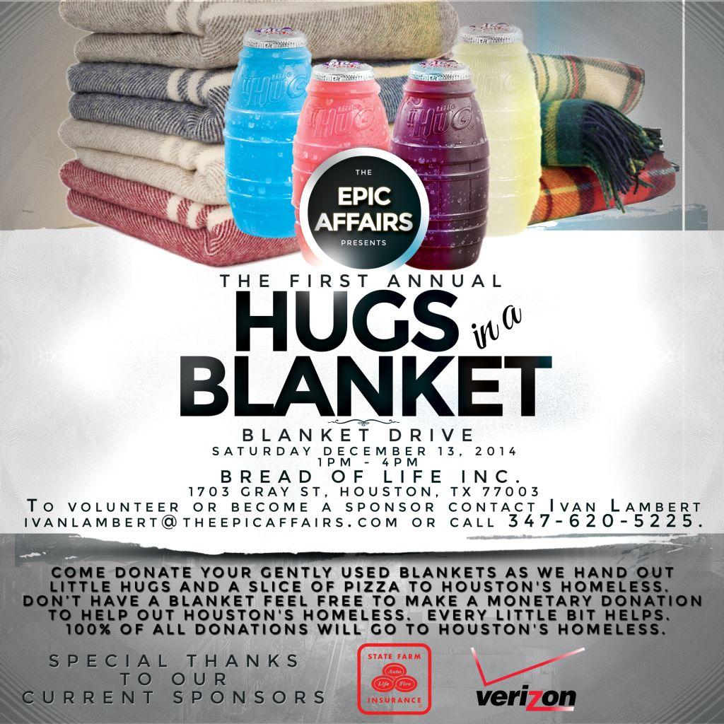 Hugs in a Blanket Flyer!