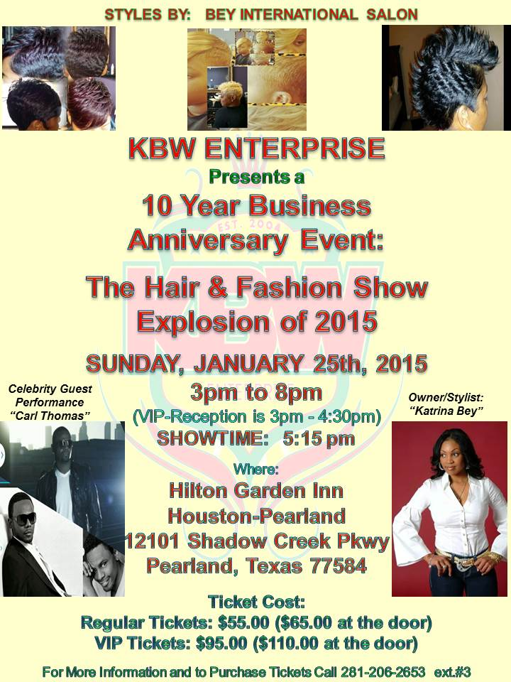 Hair and fasion Show Flyer - Preview 2-2