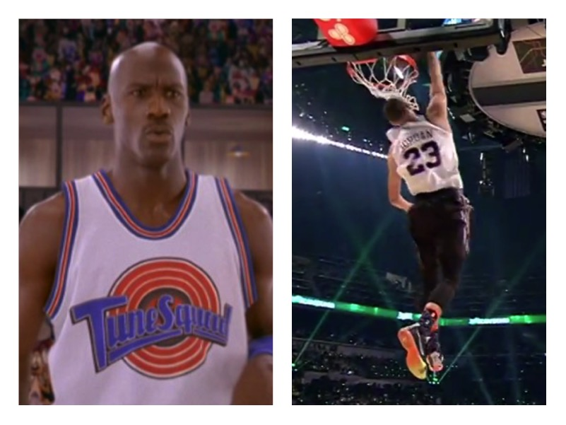 info for 06ef9 fd5cd 19 Year-Old Wins Slam Dunk By Honoring Michael Jordan and Space ...