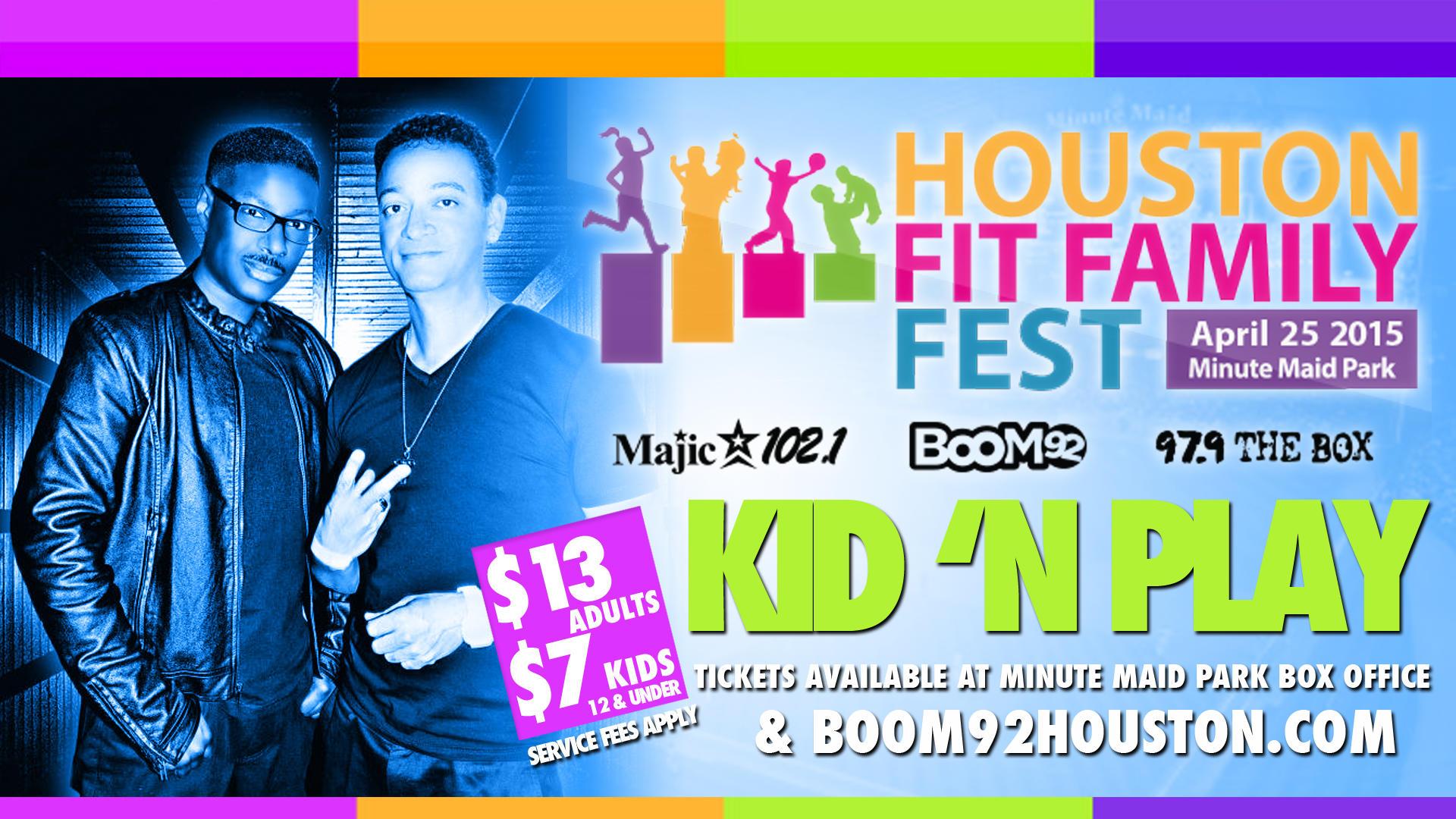 Houston Fit Family Fest Kid & Play