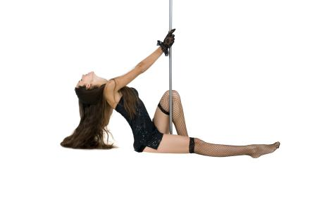 Sexy pole dancer