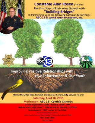 Constable Alan Rosen's 2015 Teen Summit