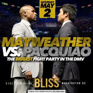 BLISS Mayweather fight May 2