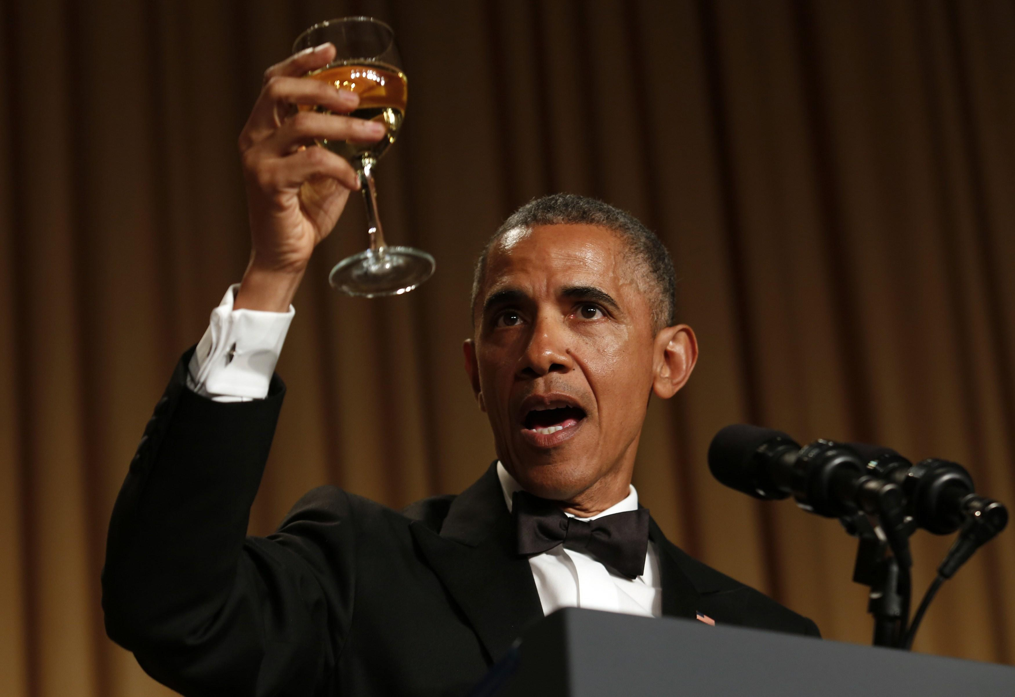 White House Correspondents Dinner Obama
