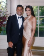 Ciara & Russell Wilson Have Date Night At The White House!