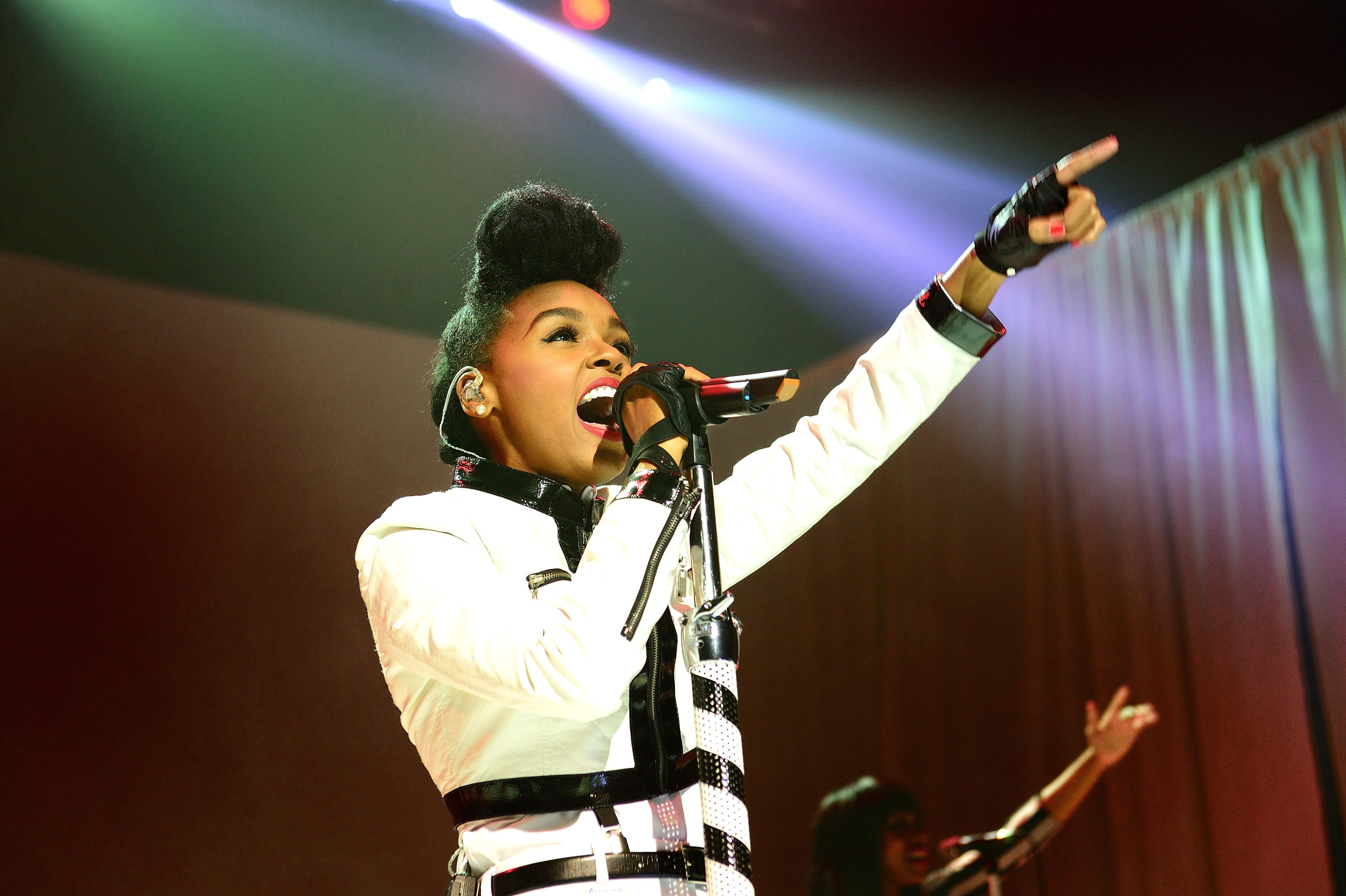Janelle Monae Performs At Brixton Academy In London