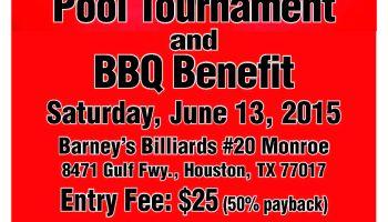 Charity Pool Tournament