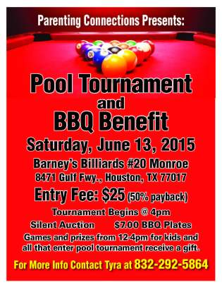 Charity Pool Tournament