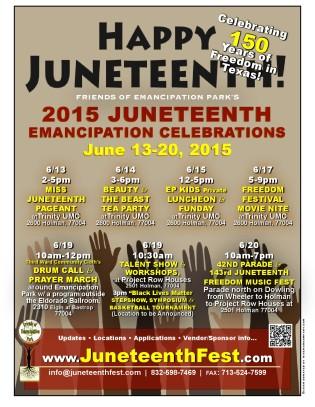 2015 Juneteenth Emancipation Celebrations