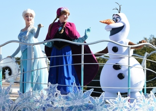 Frozen parade