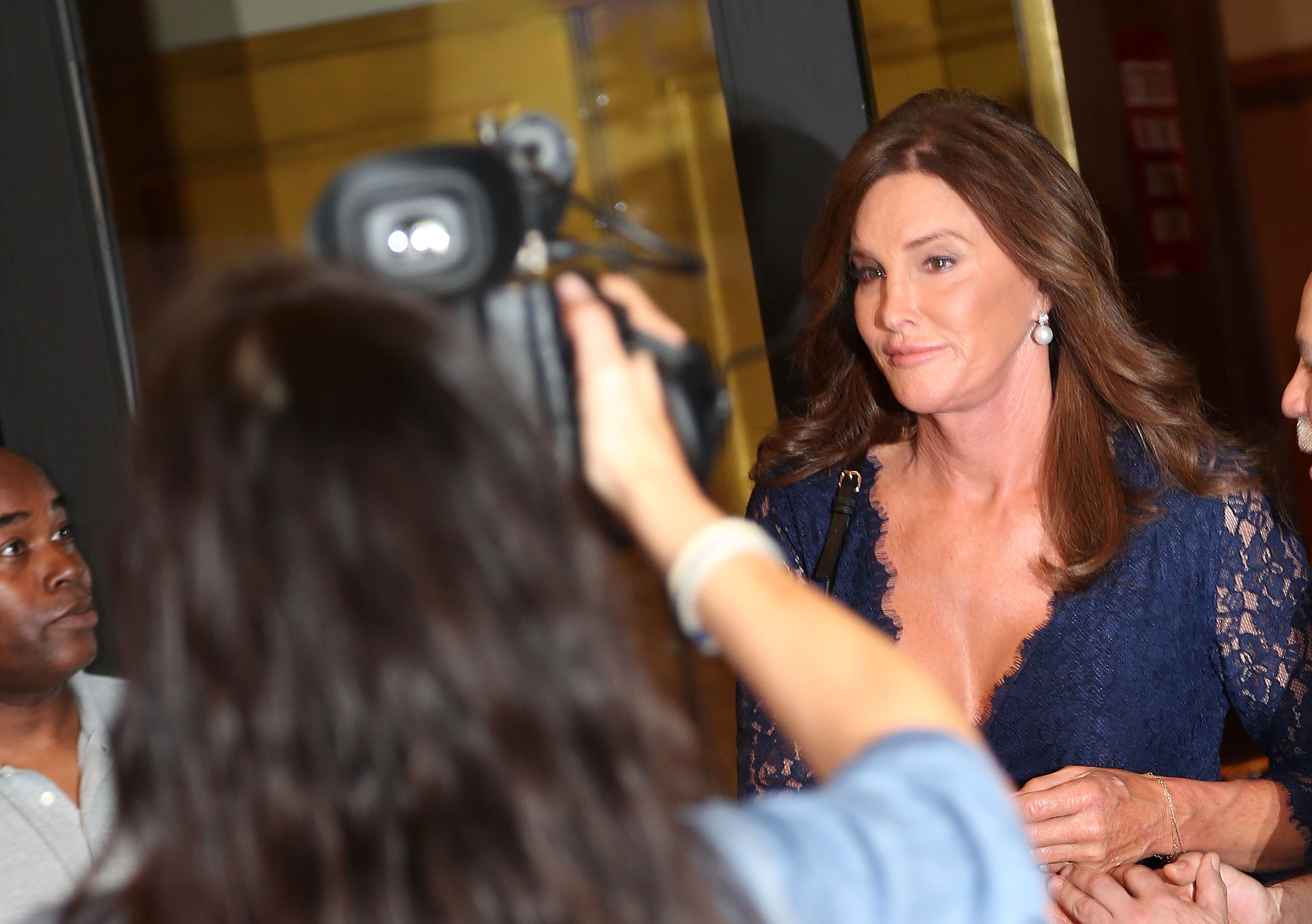 Celebrities Visit Broadway - June 30, 2015