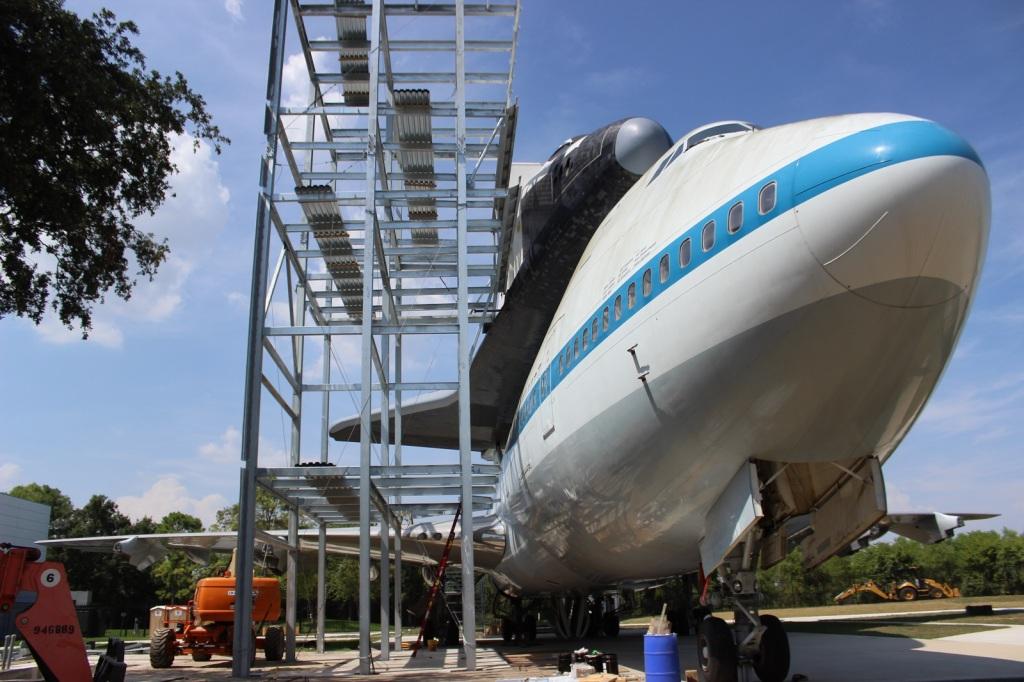 Space Center Houston International Landmark
