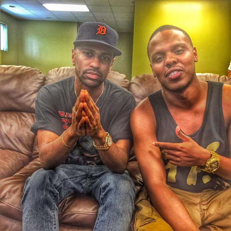 Backstage With Big Sean And Amir Diamond
