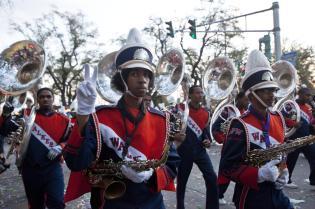 2012 Krewe Of Bacchus Parade