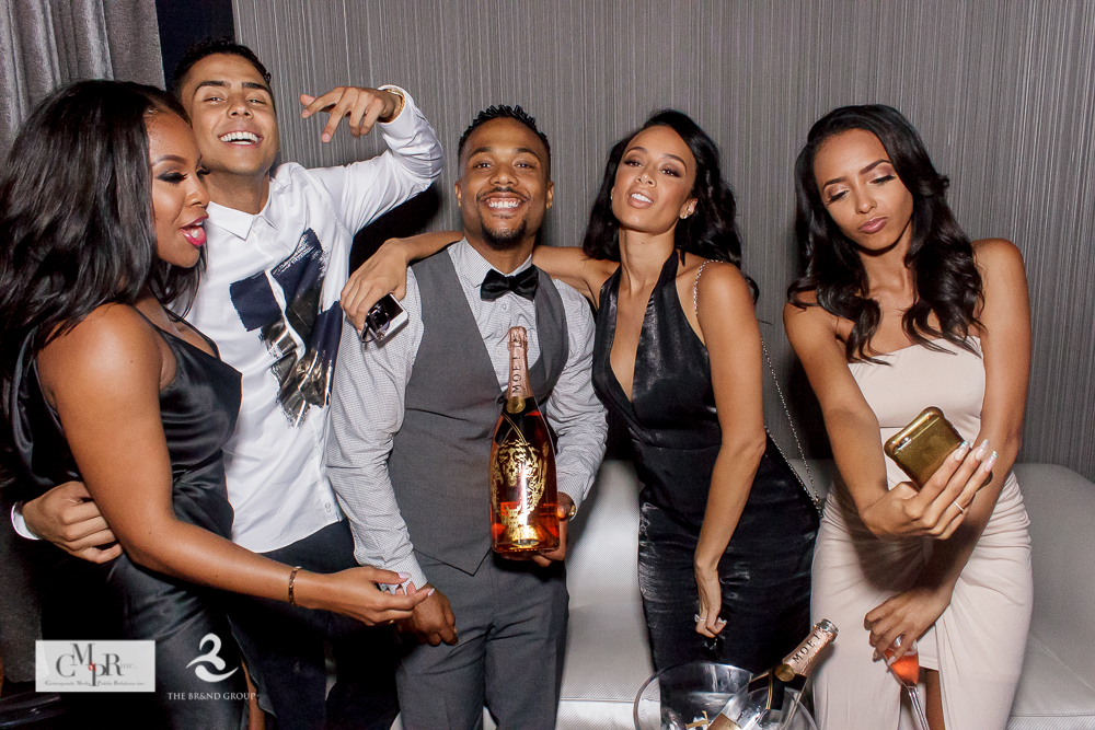Draya Michele, Quincy Brown, more at Miss Diddy presents The 2nd Annual Toast To Young Hollywood