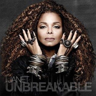 "Janet Jackson's ""Unbreakable"" LP cover"