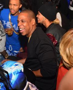 Jay Z Hosts Reign Nightclub