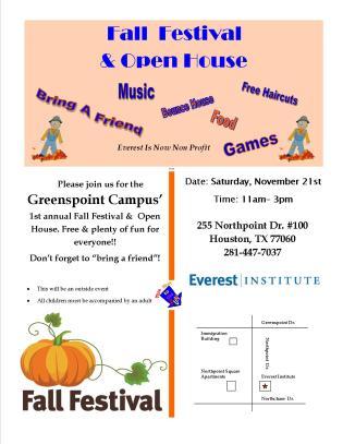 Fall Festival & Open House