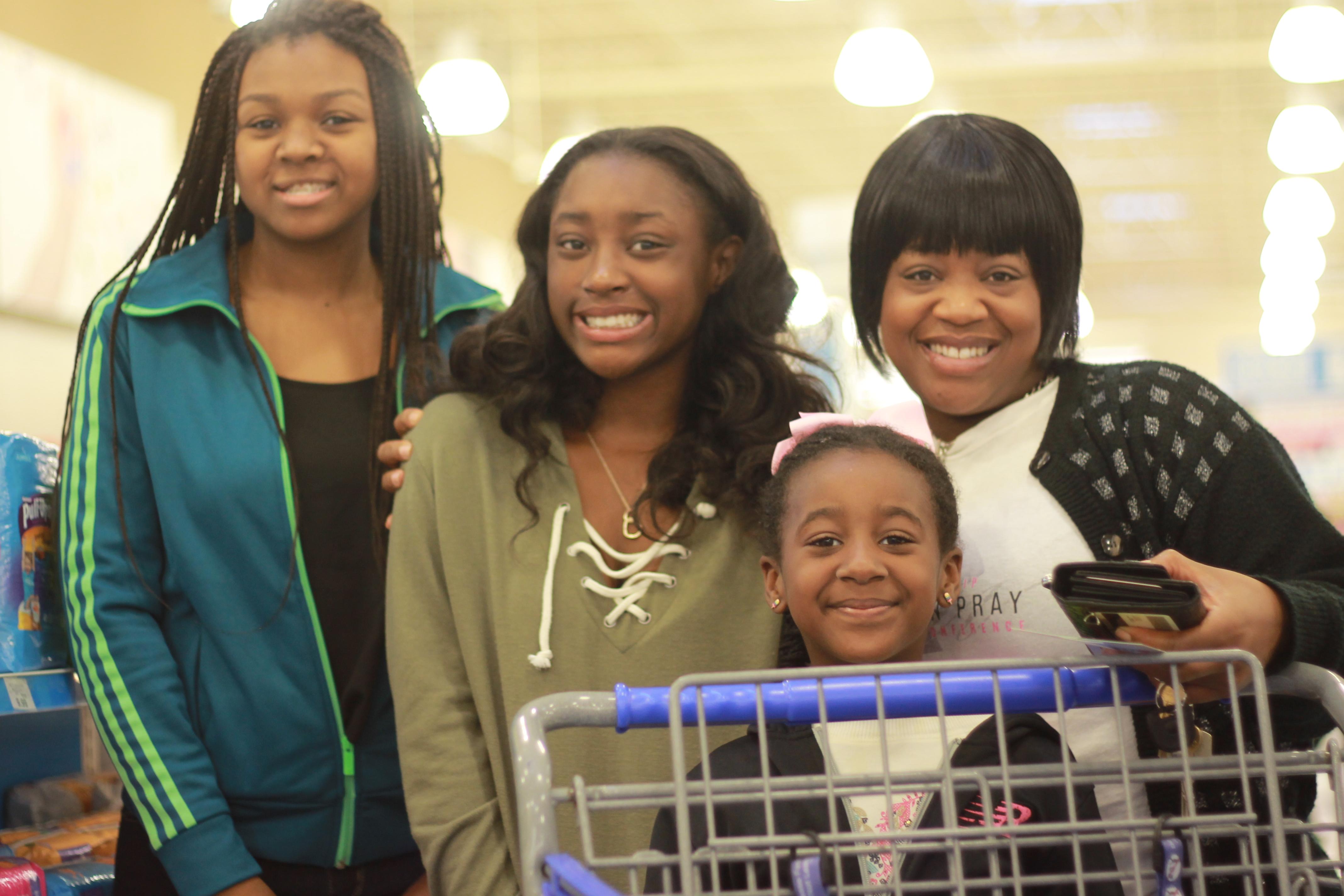 Single Mom's Shopping Spree