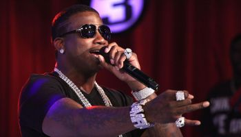 Gucci Mane Visits BET's '106 & Park' - June 1, 2010