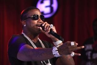 Gucci Mane Visits BET's '106 & Park' - June 1, 2010