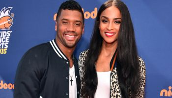 Ciara Russell wilson nike sports awards