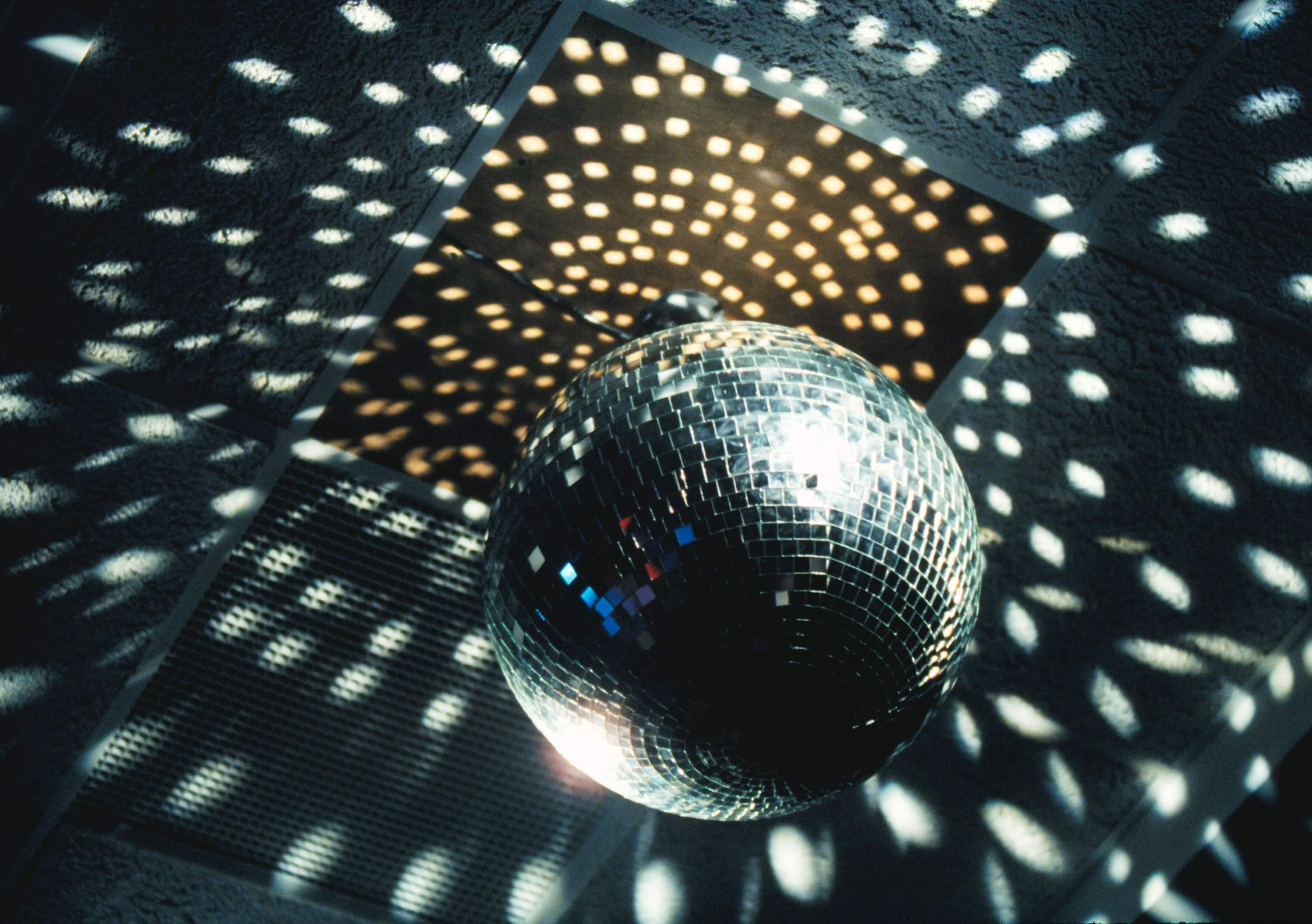 Photo of DISCO and MIRROR BALL