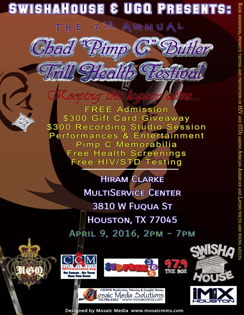 Pimp C Trill Health Fair