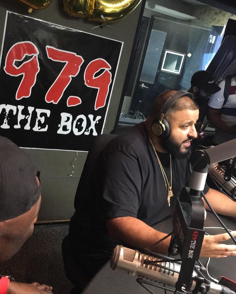 DJ Khaled 97.9 Takeover