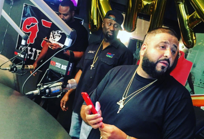 DJ Khaled 97.9 The Box