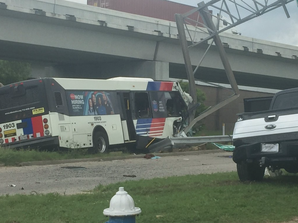Houston Metro Bus Accident