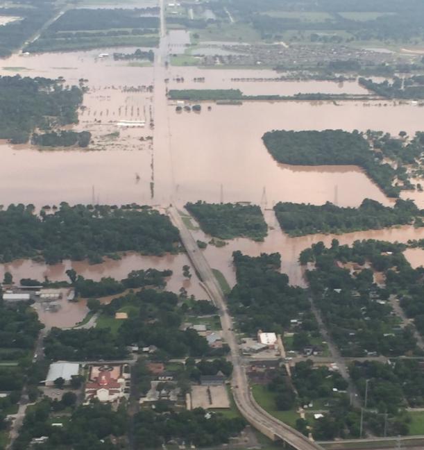 Brazos River Flooding