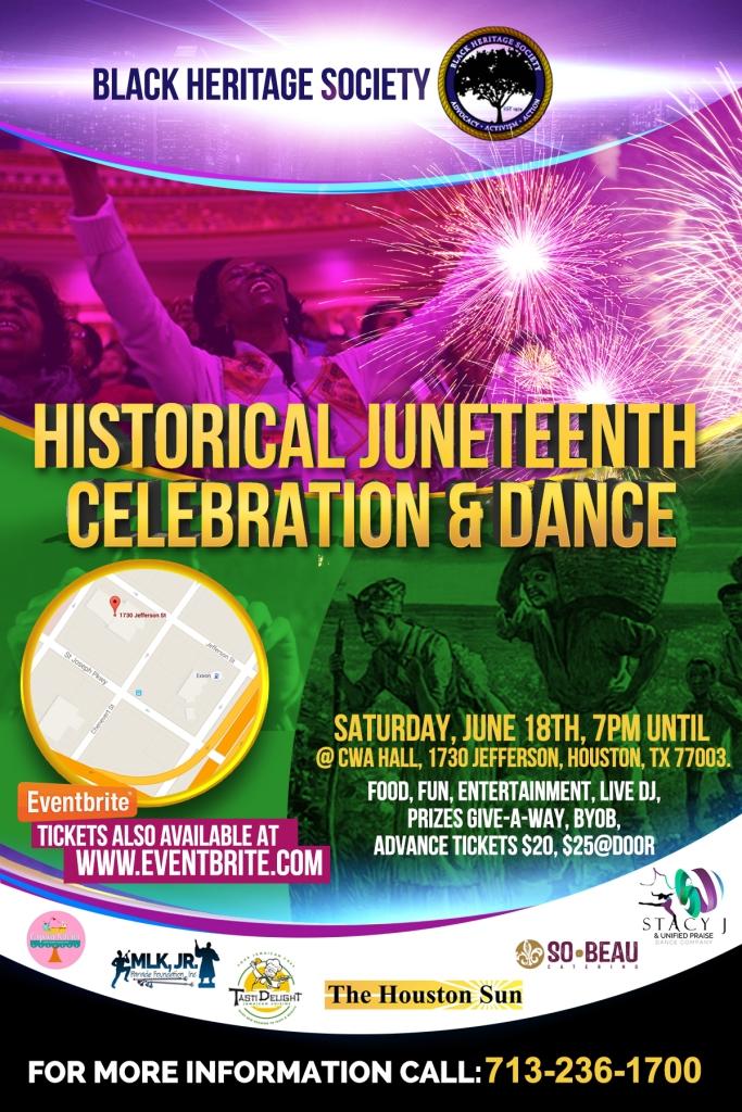 Historical Juneteenth Celebration & Dance