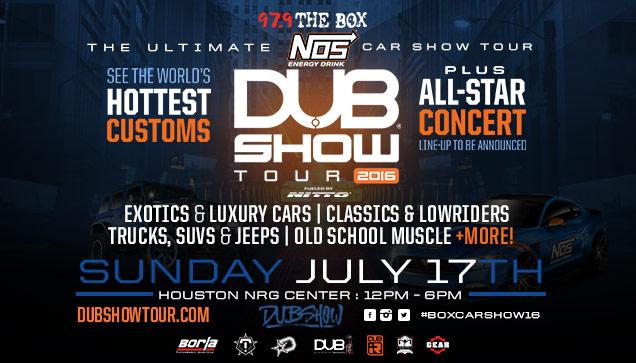 Dub Car Show The Box - Dub car show houston