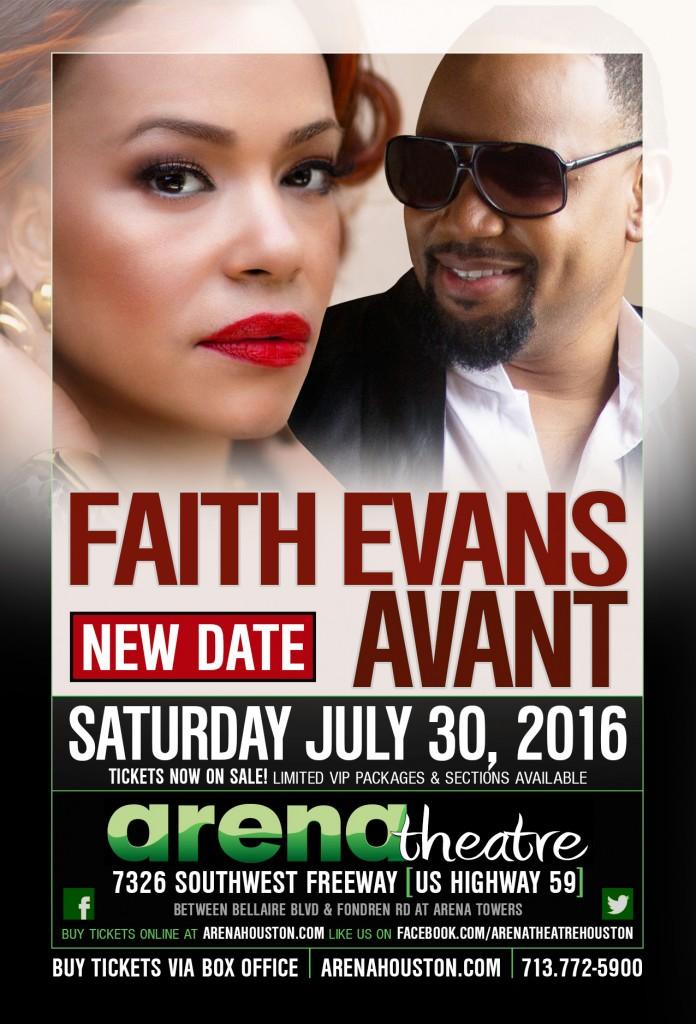 2016 Faith Evans & Avant at Arena Theatre