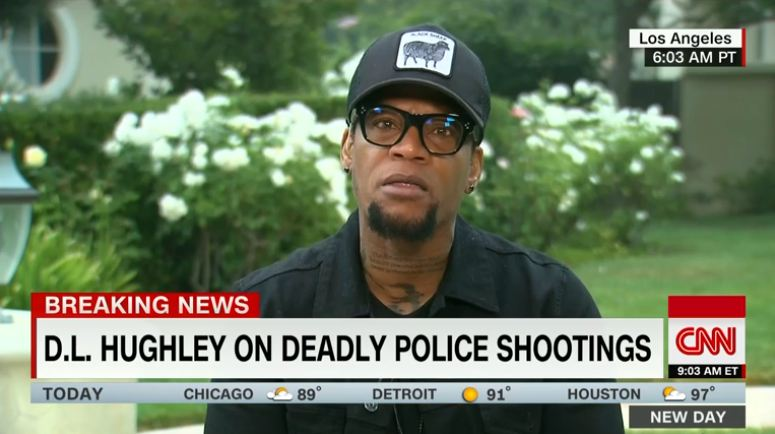 DL Hughley CNN Screenshot