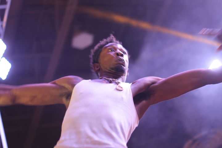 Desiigner at Dub Car Show