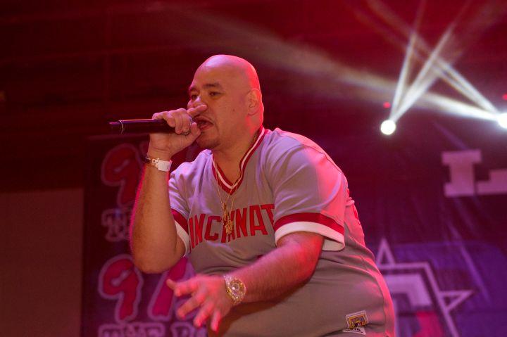 Fat Joe at 97.9's Dub Car Show