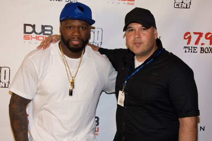 50 Cent at 97.9's Dub Car Show