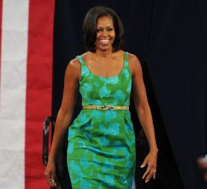 Michelle Obama Speaks At Miami High School