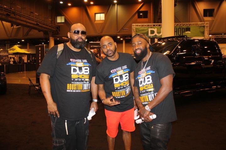 97.9 Jocks At Dub Car Show
