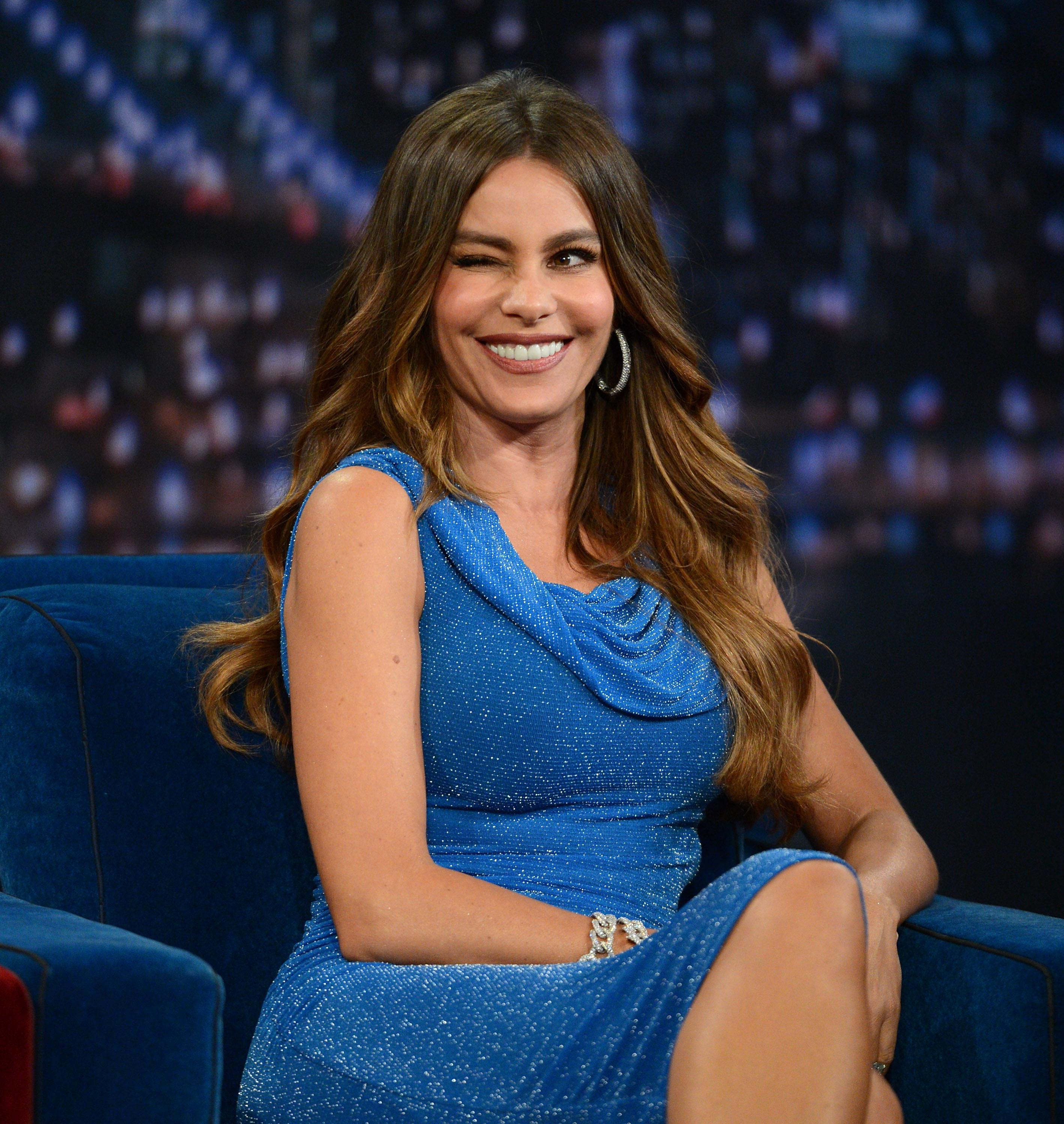 Sofia Vergara Visits 'Late Night With Jimmy Fallon'