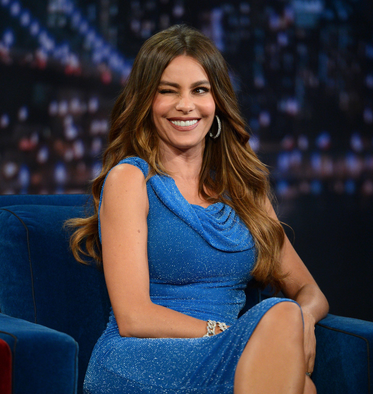 Sofia Vergara Visits 'Late Night With Jimmy Fallon'