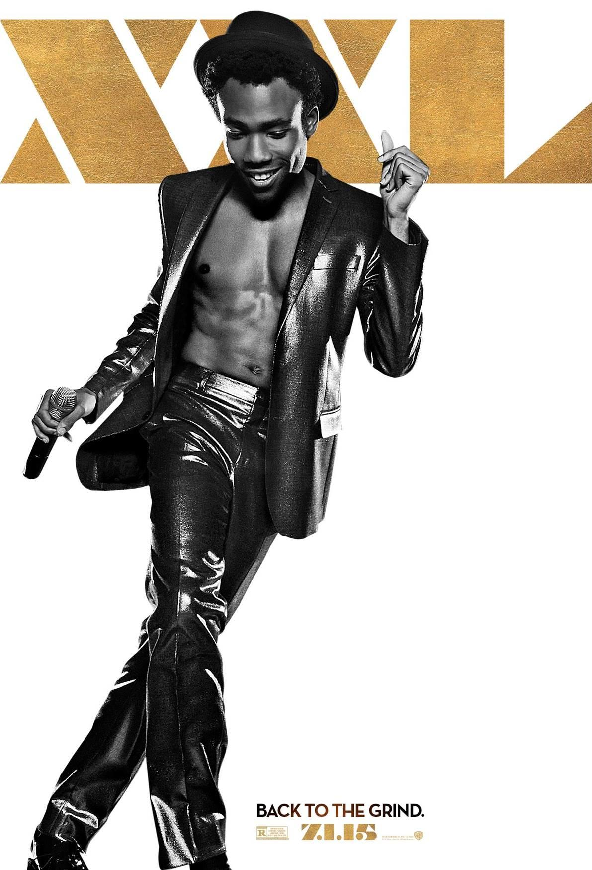 Childish Gambino Magic Mike XXL Poster