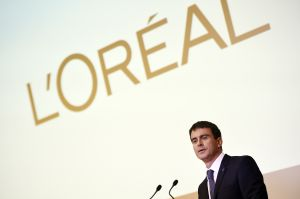 FRANCE-GOVERNMENT-COSMETICS-LUXURY-LOREAL