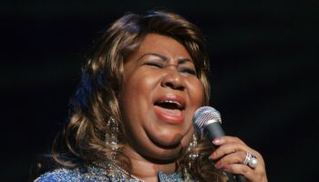 USA - Aretha Franklin Performs in New York City