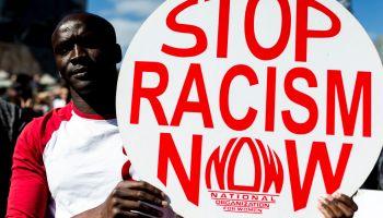 'No Room for Racism' Australia protest